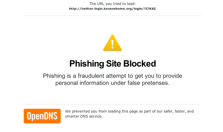 OpenDNS säkrar webben