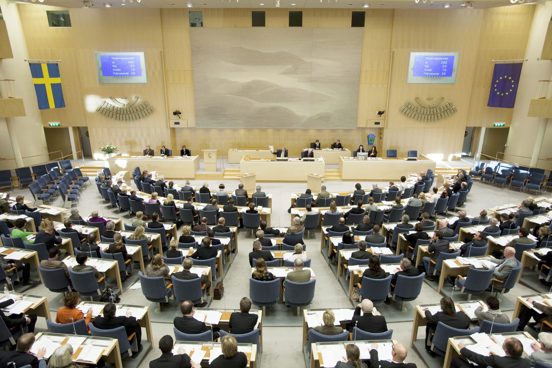 Vilka väljer vi till riksdagen? Foto: Melker Dahlstrand/Riksdagsförvaltningen