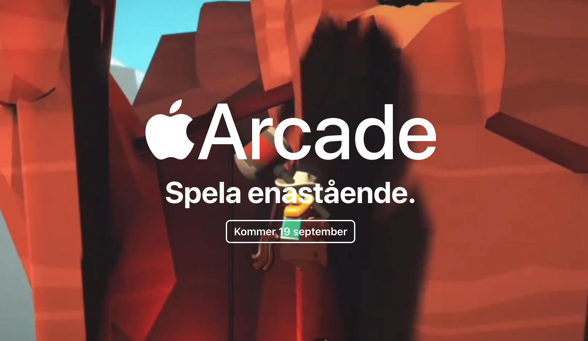 Lanseringsbild från Apple Arcade
