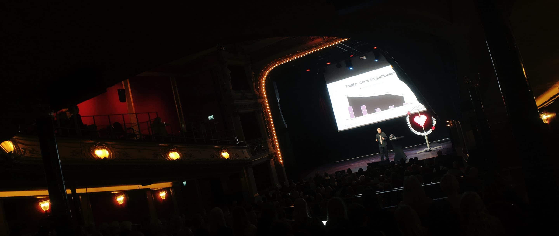Måns Jonasson presenterar Svenskarna och internet 2019.